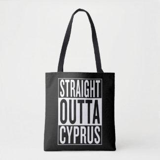 Bolsa Tote outta reto Chipre
