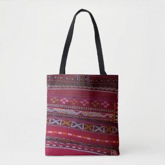 Bolsa Tote Padrões do travesseiro de matéria têxtil