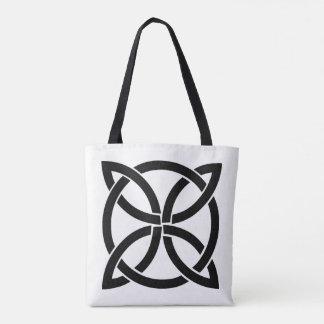 Bolsa Tote pagan antigo do símbolo de ireland do nó celta