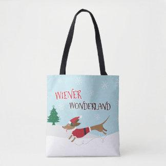 Bolsa Tote País das maravilhas do Wiener