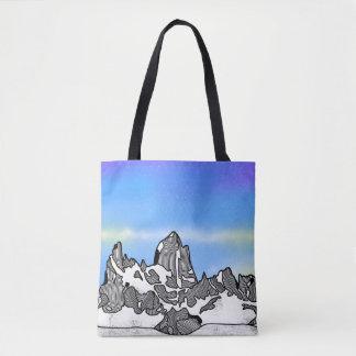Bolsa Tote Paisagem da montanha de Monte Fitz Roy