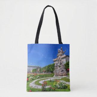 Bolsa Tote Palácio de Mirabell e jardins, Salzburg, Áustria