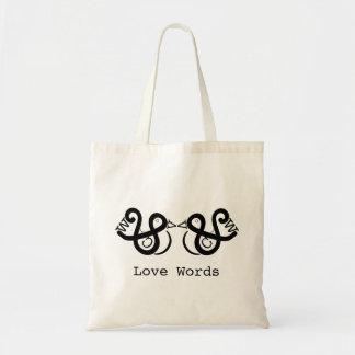 Bolsa Tote Palavras do amor