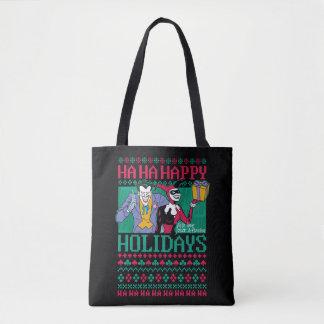 Bolsa Tote Palhaço de Batman   boas festas & Harley Quinn