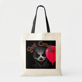 Bolsa Tote palhaço do Dia das Bruxas e sacola maus do balão