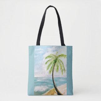 Bolsa Tote Palma da brisa de mar