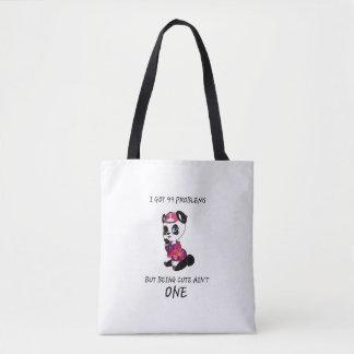 Bolsa Tote Panda bonito