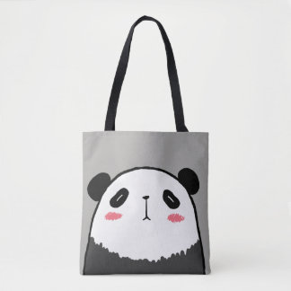 Bolsa Tote Panda preguiçosa