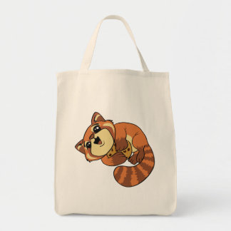 Bolsa Tote Panda vermelha!
