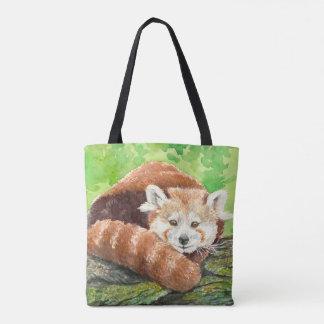 Bolsa Tote Panda vermelha
