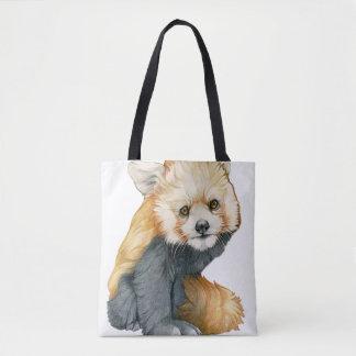 Bolsa Tote Panda vermelha Cub