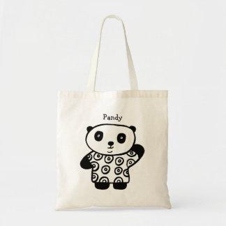 Bolsa Tote Pandy personalizado a panda