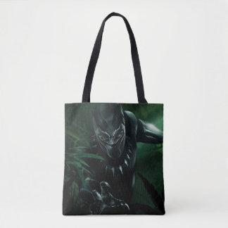 Bolsa Tote Pantera preta   na selva