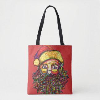 Bolsa Tote Papai Noel