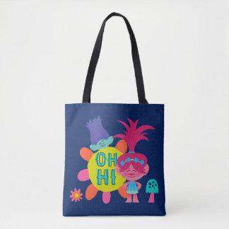 Bolsa Tote Papoila & ramo dos troll | - oh olá! lá