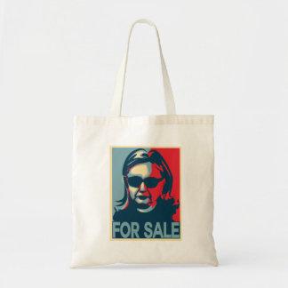 Bolsa Tote Para o poster da esperança de Hillary Clinton