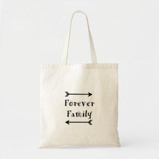 Bolsa Tote Para sempre família - design de Adpotion