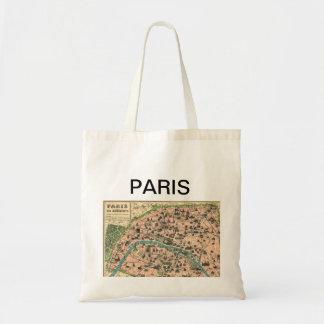 BOLSA TOTE PARIS MAP