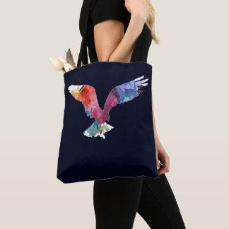 Bolsa Tote Pássaro do animal do espírito de Eagle. Totem.