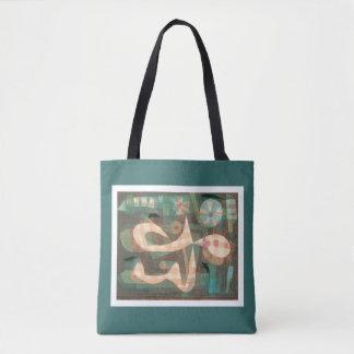 Bolsa Tote Paul Klee - soga farpada com sacola dos ratos