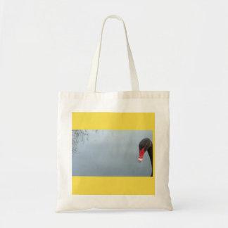 Bolsa Tote Peekaboo - uma cisne insolente