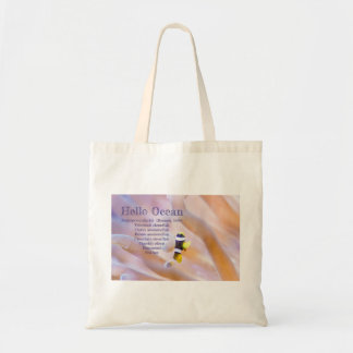 Bolsa Tote peixes de anêmona bonito do bebê