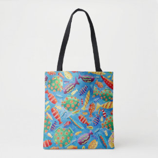 Bolsa Tote Peixes tropicais