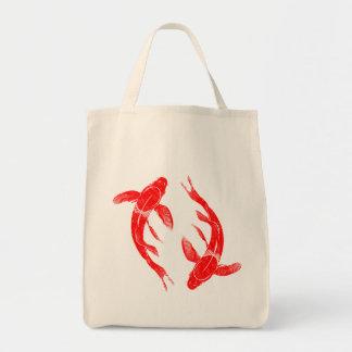 Bolsa Tote Peixes vermelhos de Koi