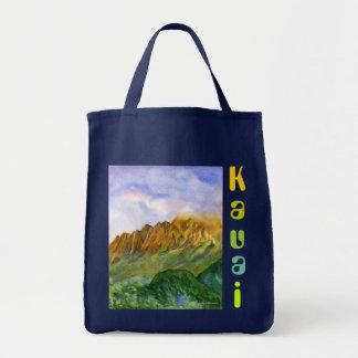Bolsa Tote Penhascos Kauai Havaí do nascer do sol