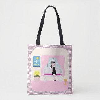Bolsa Tote Pequeno almoço com desenhos animados de Stephanie