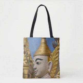 Bolsa Tote Perfil da estátua de Buddha