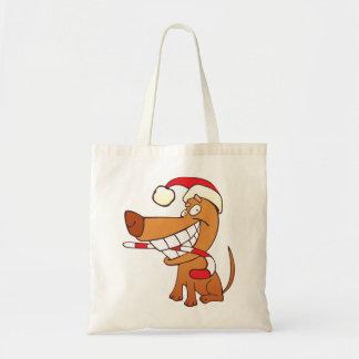 Bolsa Tote Persiga em uma sacola do chapéu do papai noel