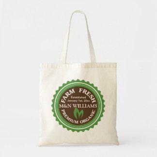 Bolsa Tote Personalize seu logotipo orgânico conhecido da