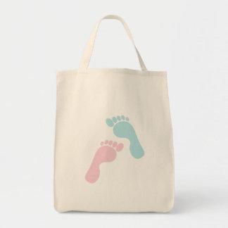 Bolsa Tote Pés bonitos do bebê