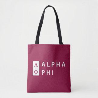 Bolsa Tote Phi alfa | empilhado