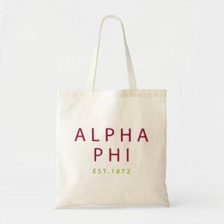 Bolsa Tote Phi alfa | Est. 1872 2