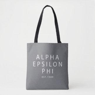 Bolsa Tote Phi alfa | Est do épsilon. 1909