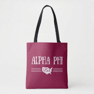 Bolsa Tote Phi alfa EUA