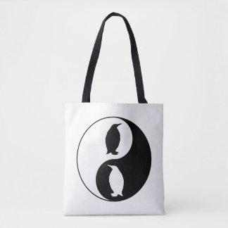 Bolsa Tote Pinguim de Yin Yang