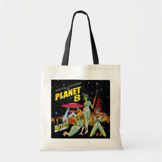 Bolsa Tote Pintinhos do espaço do planeta 8