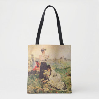 Bolsa Tote Piquenique em Normandy por Juan Luna.