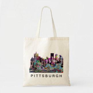 Bolsa Tote Pittsburgh nos grafites