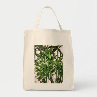 Bolsa Tote Planta da casa do folha do verde e os de bambu dos