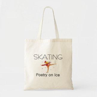 Bolsa Tote Poesia de patinagem SUPERIOR