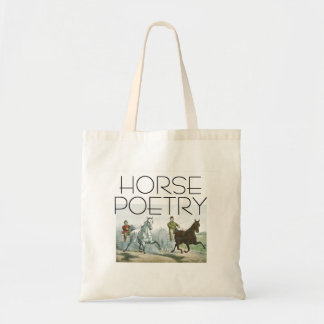 Bolsa Tote Poesia SUPERIOR do cavalo