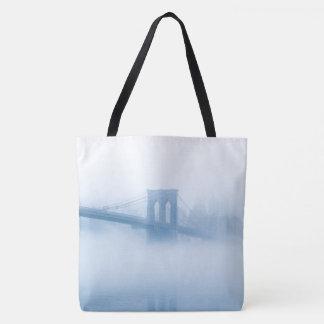 Bolsa Tote Ponte de Brooklyn nevoenta