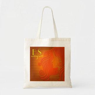 Bolsa Tote Pop art estilizado personalizado da sacola | das
