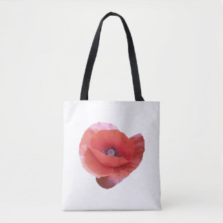 Bolsa Tote Poppy. vermelho