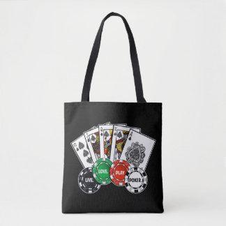 Bolsa Tote Póquer v1