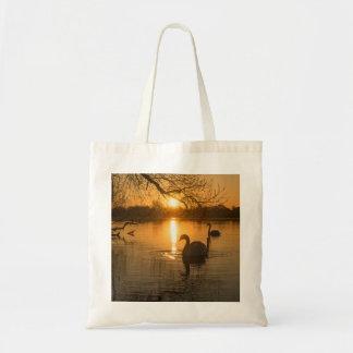 Bolsa Tote Por do sol com cisne